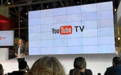 Presentación de Youtube TV.