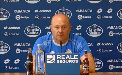 Pepe Mel comienza su andadura con el Deportivo.