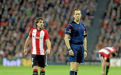 El árbitro del Sevilla-Leganés.