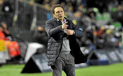 Eusebio ha elogiado el partido del Betis.