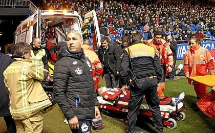 """Fernando Torres: """"Ha sido solo un susto, espero volver muy pronto"""""""