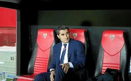"""Valverde: """"Es increíble que nos vayamos de vacío, no hemos merecido perder"""""""