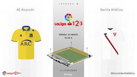 Alcorcón-Sevilla Atlético: Síguelo en directo