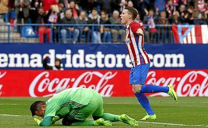 Gameiro suma 14 goles y siete asistencias esta campaña.
