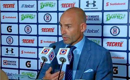 Paco Jémez dice que su Cruz Azul es raro hasta para meter goles