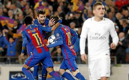 Barça 6- 1 PSG: El Barça firma una remontada para la historia