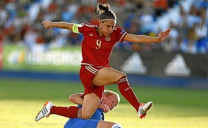 Boquete reivindica el futuro del fútbol femenino.