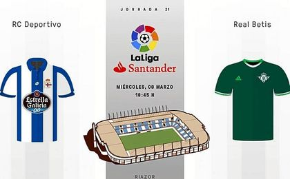 EN DIRECTO | Deportivo-Real Betis