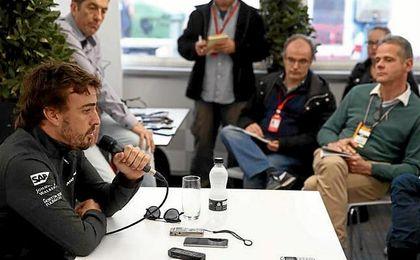 Fernando Alonso carga contra Honda