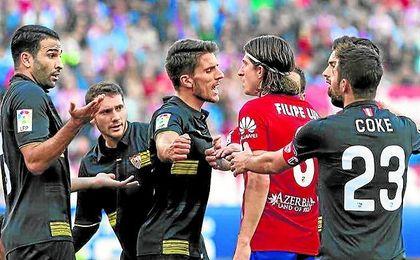 El próximo desplazamiento nervionense será al Calderón.