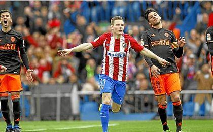 Simeone espera contar con el francés.