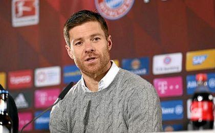 Alonso muestra su alegría por retirarse en el Bayern