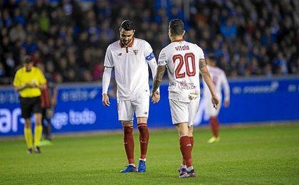 Un tercio de los goles del Sevilla son españoles