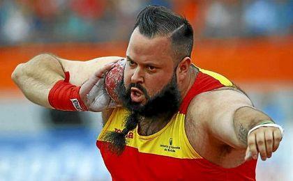 El español Carlos Tobalina, medalla de plata en la Copa de Europa en peso