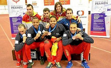 España triunfa en los Europeos Indoor