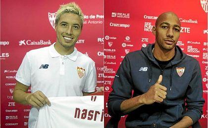 N'Zonzi y Nasri ya saben lo que es ganar en Leicester