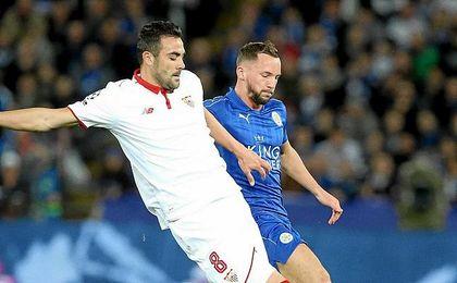 Crónica al descanso: El Sevilla necesita marcar