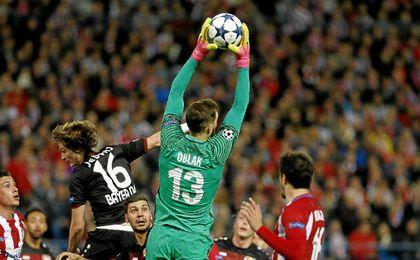 Atlético 0-0 Bayer: Oblak tramita el pase a cuartos de la Champions