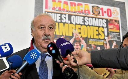 Del Bosque dice que la independencia de Cataluña sería desastrosa para LaLiga