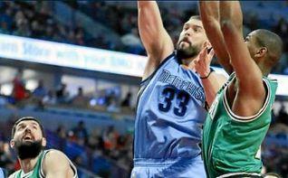 Marc Gasol lidera la victoria de Grizzlies ante Mirotic y Rubio se exhibe en la derrota de Timberwolves