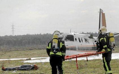 Emergencias 112 Andalucía organiza, hoy, un simulacro aéreo en el Aeropuerto de Sevilla