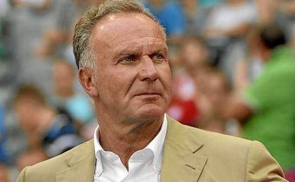 """Rummenigge: """"Nos esperan dos grandes partidos, el aficionado se alegrará"""""""
