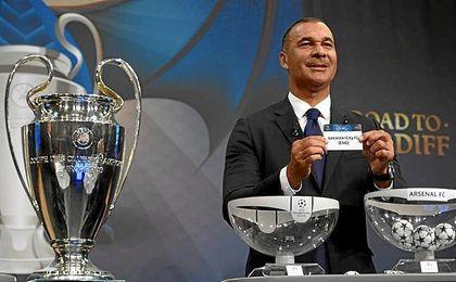 Al Atlético le ha tocado el Leicester.