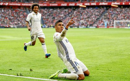 Casemiro hizo el gol de la victoria.