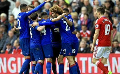 El Manchester se impuso al Middlesbrough.