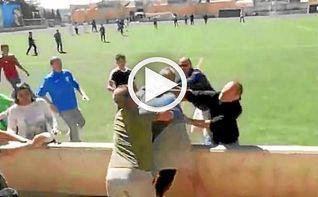 Batalla campal entre padres en un partido de infantiles en Mallorca