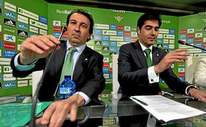 Catalán y Haro, en rueda de prensa.