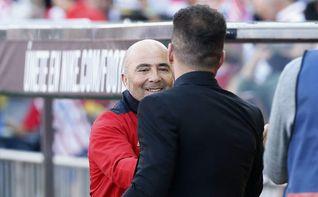 """Simeone: """"Sampaoli le ha hecho bien al fútbol español"""""""