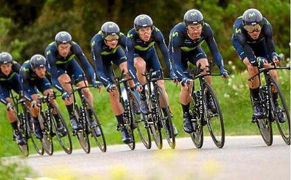 La UCI sanciona a Movistar y Ben Hermans (BMC) releva a Valverde como líder
