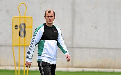 Zozulya se ha seguido entrenando con el Betis.