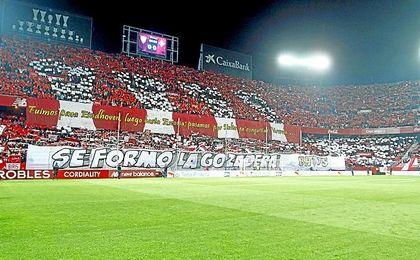Imagen de archivo del Gol Norte del Sánchez--Pizjuán.