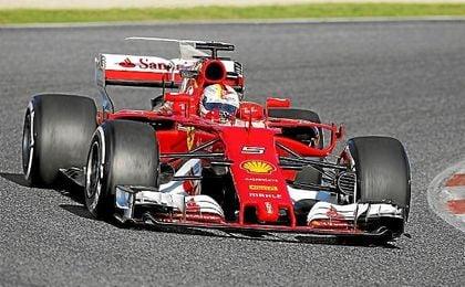 Vettel siente un gran cambio en Ferrari.