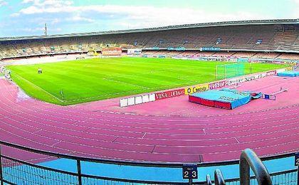 El Sevilla jugó cuatro partidos en Chapín por el cierre de su estadio.