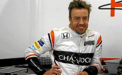 Alonso mejora.
