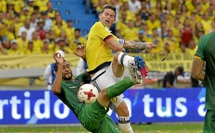 Colombia 1-0 Bolivia: James Rodríguez da el triunfo a Colombia