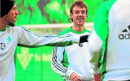 Rubén Pardo está feliz en el Betis.
