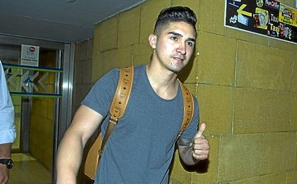 Felipe, el día que arribó a Sevilla.