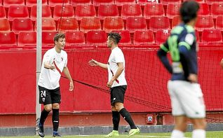 Sevilla Atlético 1-0 Córdoba: Un autogol de Kieszek, para dar un salto