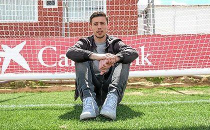 Clément Lenglet posa para ESTADIO Deportivo en la ciudad deportiva del Sevilla.