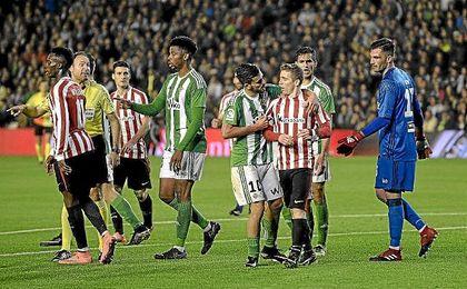 El partido del Benito Villamarín acabó 1-0 para los béticos.
