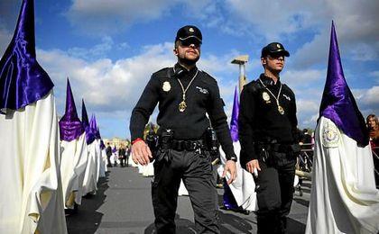 Plan de seguridad para la Semana Santa 2017 de Sevilla
