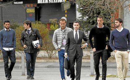 Varios exfutbolistas del Betis continúan implicados en el ´caso Osasuna´.