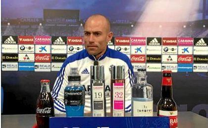 """Láinez: """"Paco Herrera es el mejor estratega de Segunda"""""""