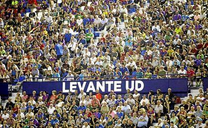 El Levante tiene un gran detalle con sus aficionados.