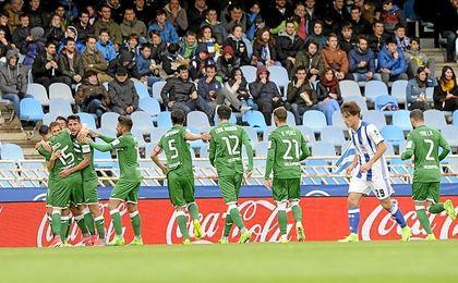 El Leganés se ha llevado un punto de Anoeta.