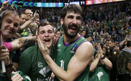 79-71. El Unicaja prolonga su sueño europeo desbordando al Valencia Basket